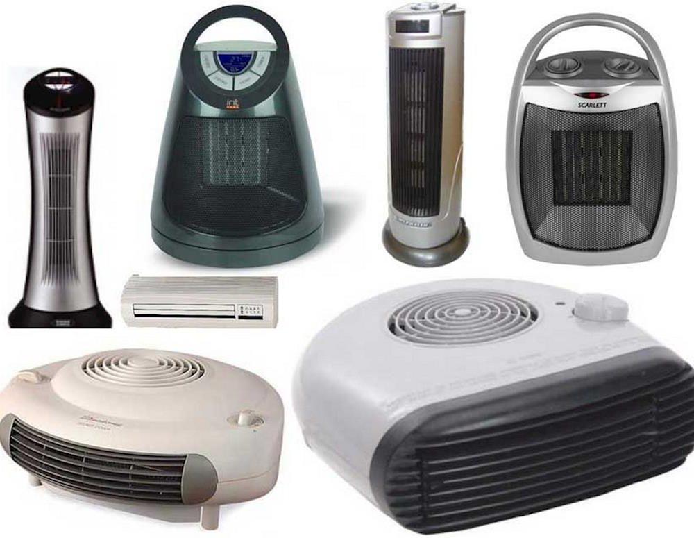 Тепловентиляторы — разные модели, назначение, мощности