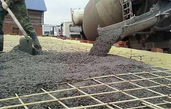Текучесть бетона