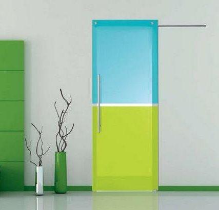 Дверь для комнаты декорированной в современном стиле