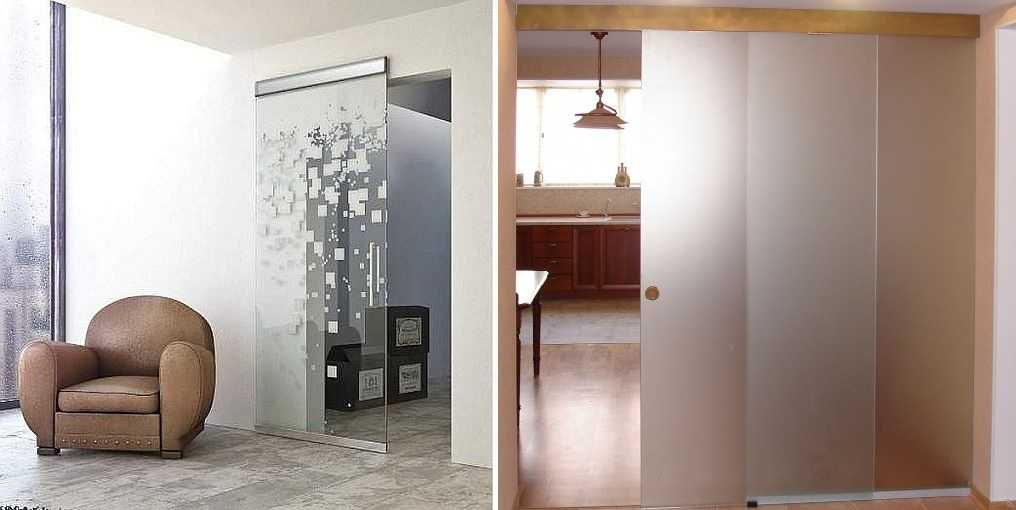 Раздвижные стеклянные двери — сильное решение
