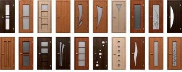 Межкомнатные двери различаются по дизайну и материалам изготовления