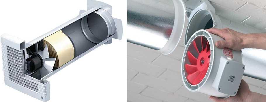 Принудительная вентиляция в частном доме — устанавливаются вентиляторы подходящего типа