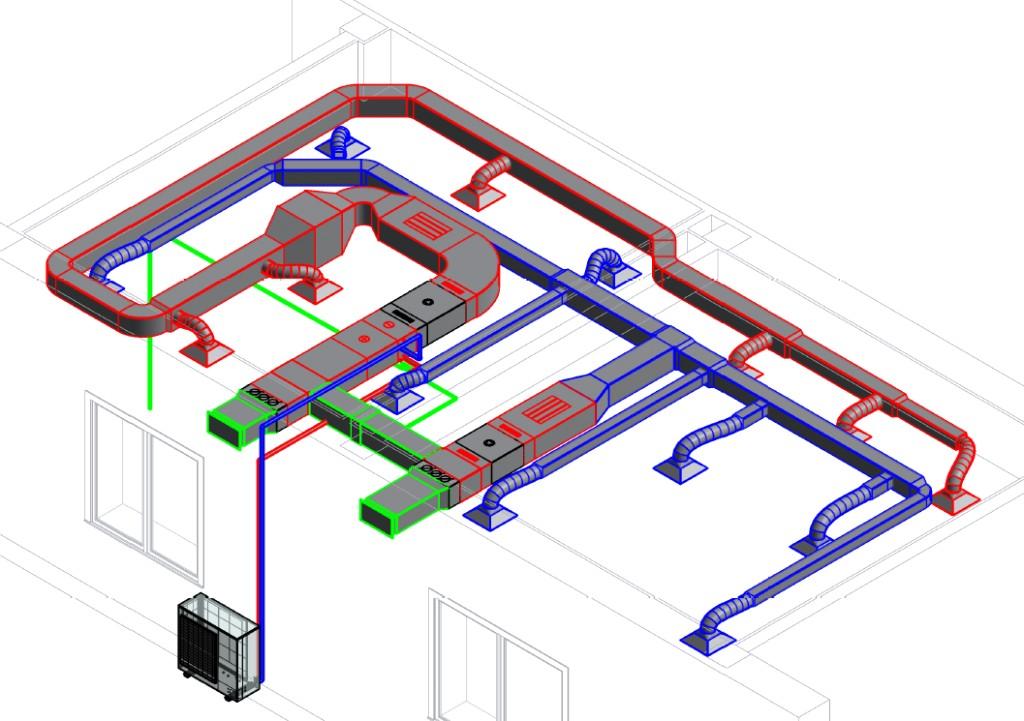При централизованных приточной и вытяжной вентиляции можно организовать подогрев или кондиционирование
