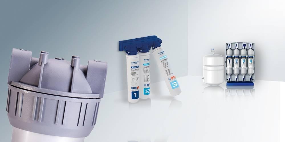 Фильтры для воды под мойку — установки проточного типа