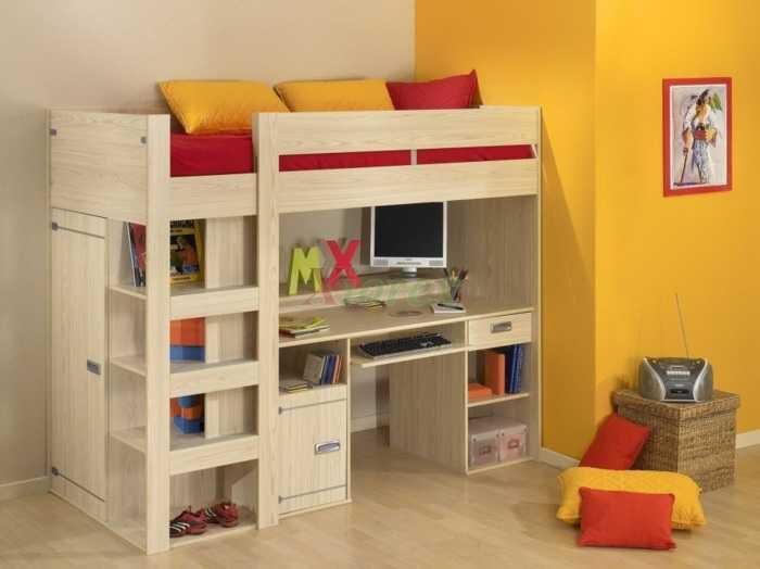 Рациональное использование пространства — угловая полка + шкаф сбоку