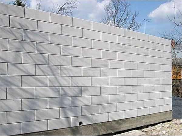 Принцип укладки блоков из газобетона