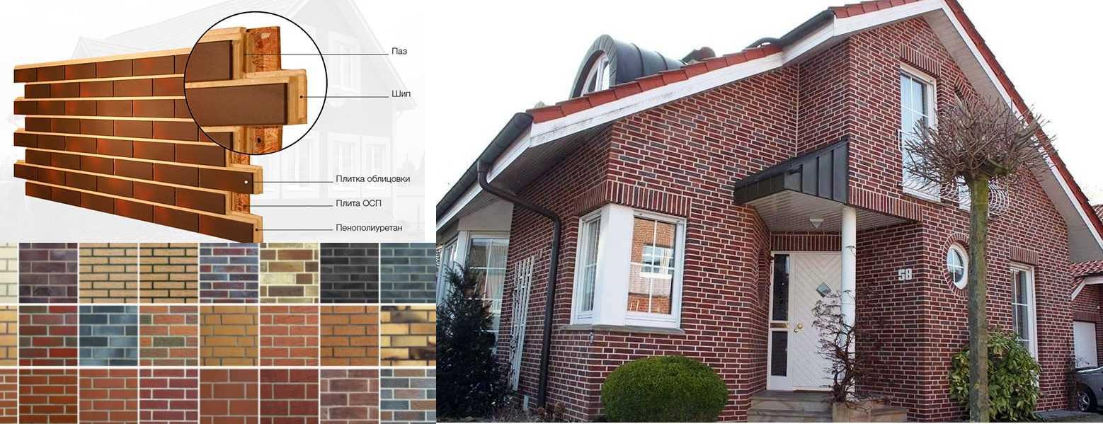 Клинкерные фасадные панели — отделка и утепление в одном «флаконе»