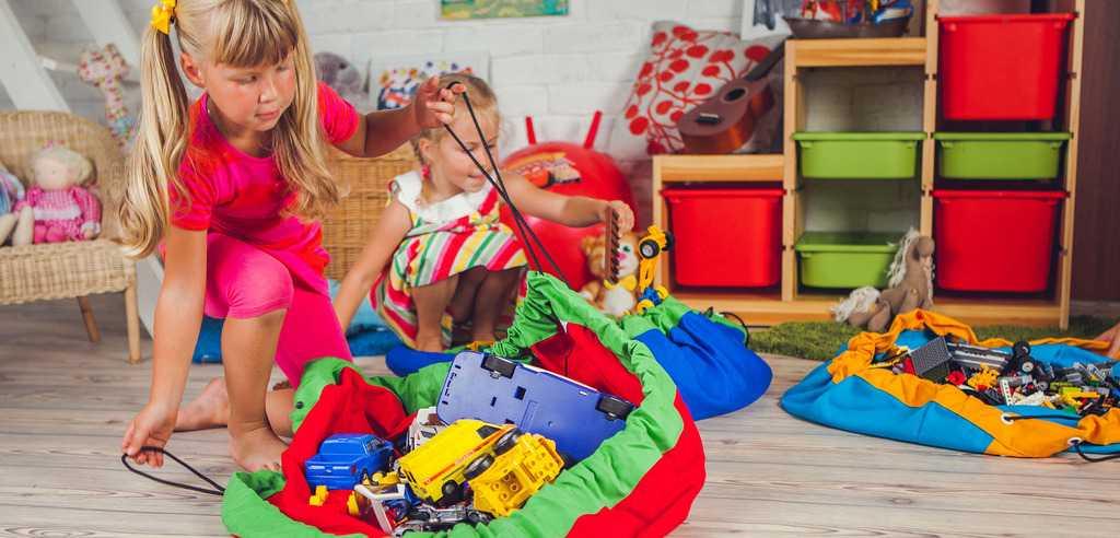 Быстро собрать игрушки легко
