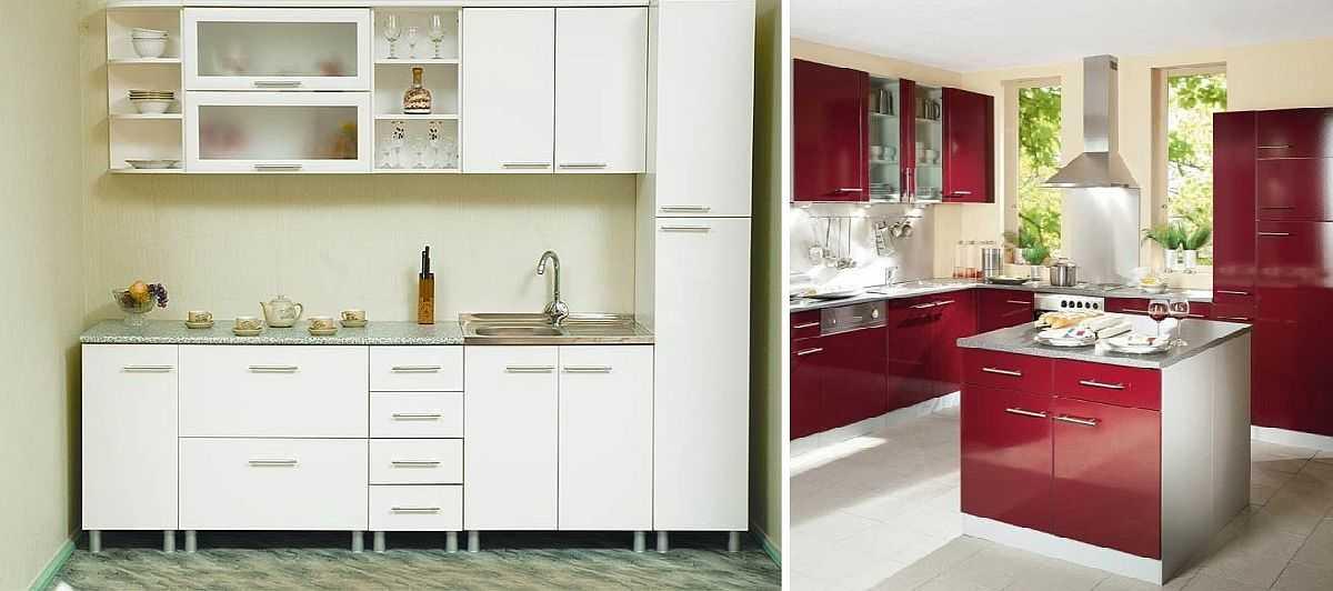 Шкаф-пенал и тумбы для островной кухни — новые виды в модульных кухнях