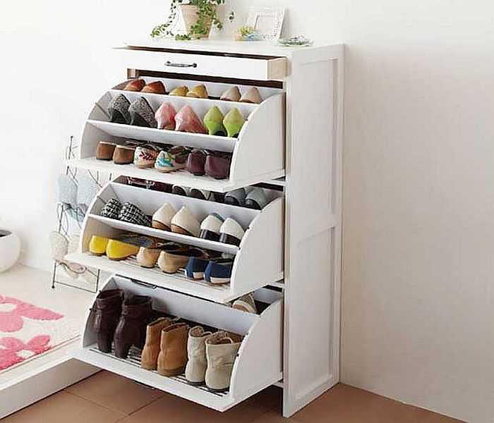 Если обуви очень много…