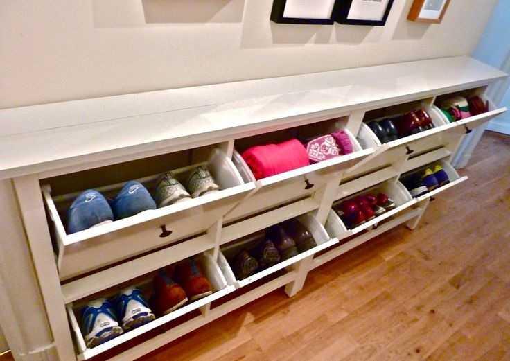 Скамья-обувница