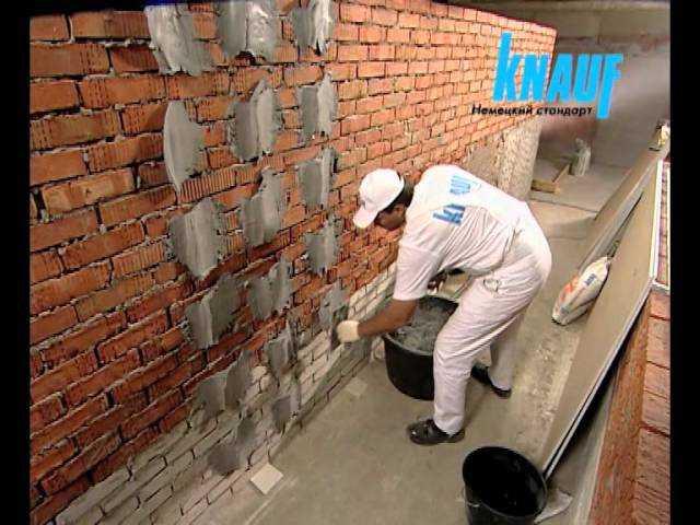 Зашиваем стены гипсокартоном: клеим на специальный состав
