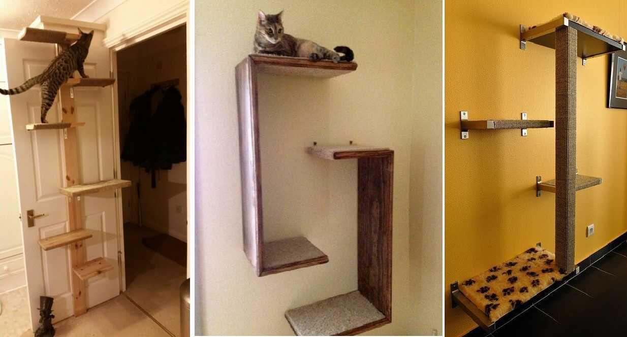 Полки для кошек — название явно неслучайное…
