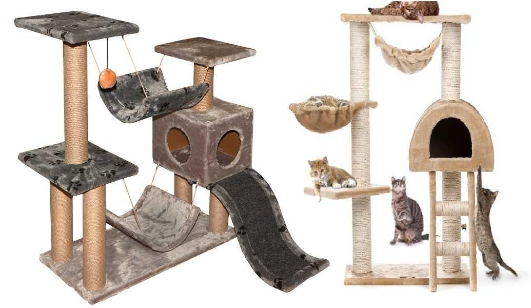 Выбор конструкции кошачьего дома — первое, что придется сделать