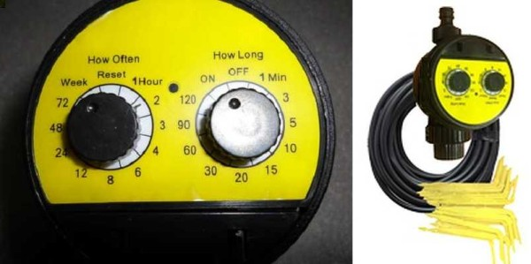 Это Аква Дуся кран — очень компактная система для капельного полива от водопровода
