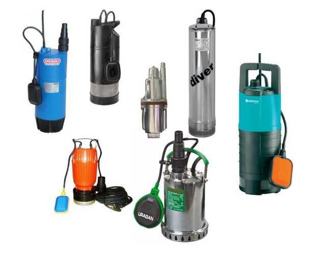 Погружные насосы есть разных типов (вихревые и вибрационные), работать могут с разной водой — чистой, грязной и очень грязной
