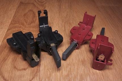 Покупайте обязательно две одинаковые, соответствующие вашей модели и без дефектов щетки: установка деталей с разной жесткостью грозит выходом двигателя из строя