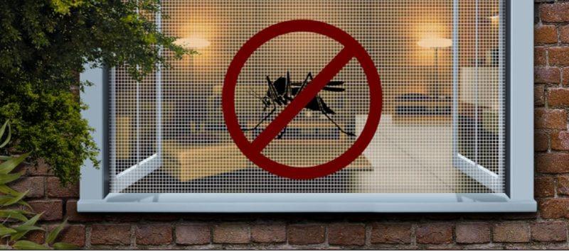 как установить москитную сетку на окно