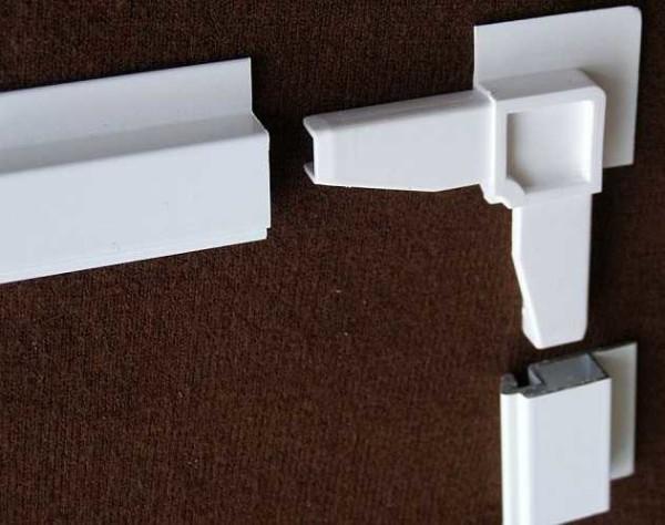 Сборка рамы сетки из отрезков профиля и уголков