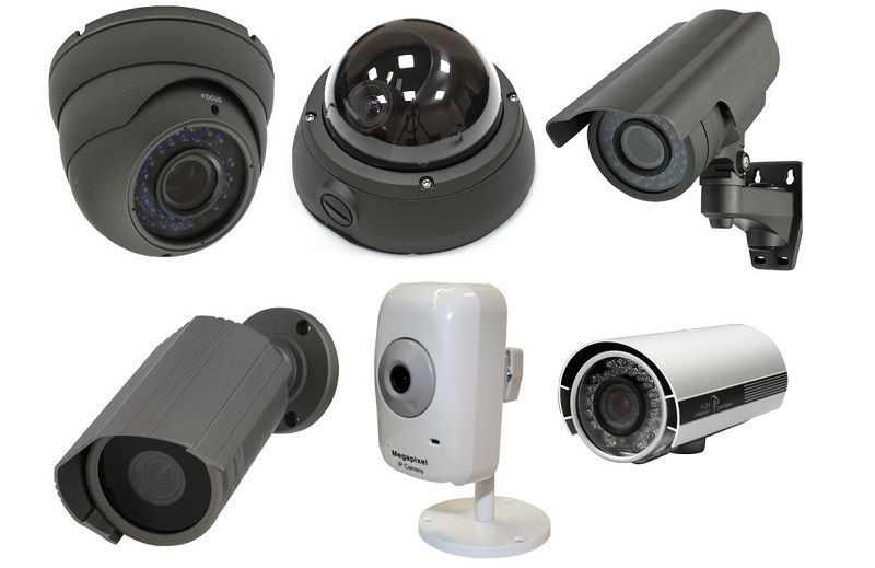 Виды камер для охранного видеонаблюдение дома