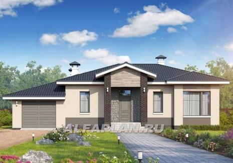 Проект дома с гаражом Ганновер