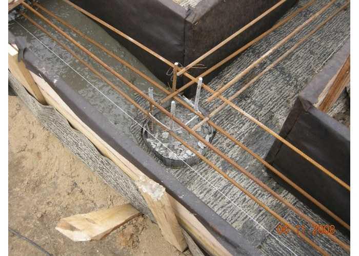Свайно-растверковый фундамент для строительства гаража своими руками