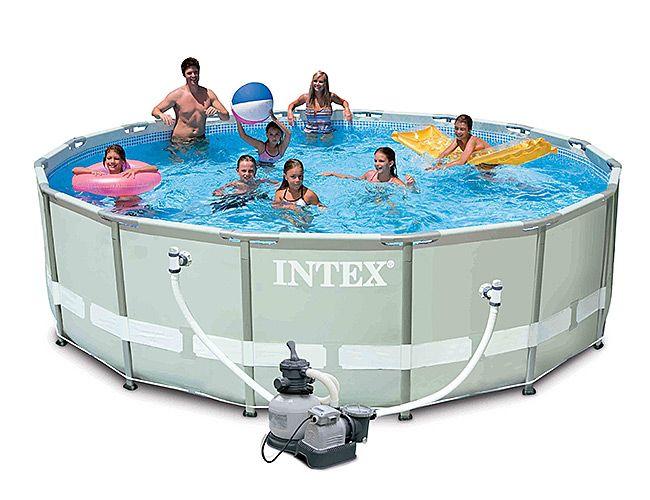 каркасный бассейн комплектация
