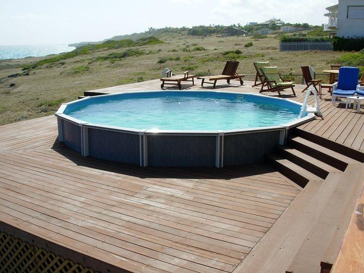 каркасный бассейн куда поставить