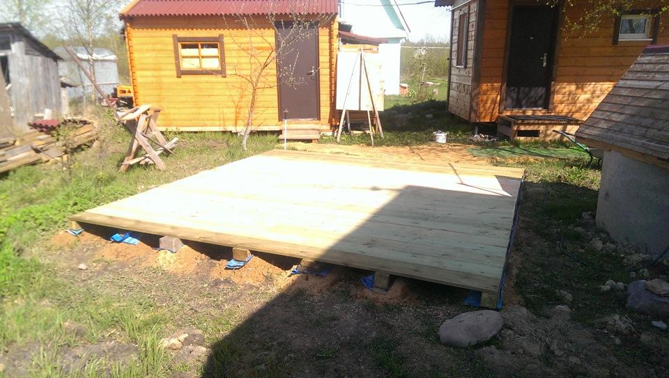 подготовка площадки под каркасный бассейн