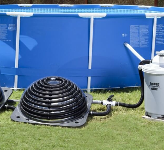 Улитка для нагрева воды в бассейне