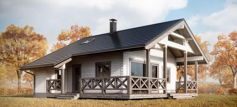 Лучшие проекты каркасных домов