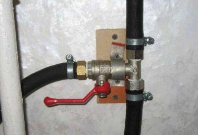 Подключение водопровода в бане к точкам потребления