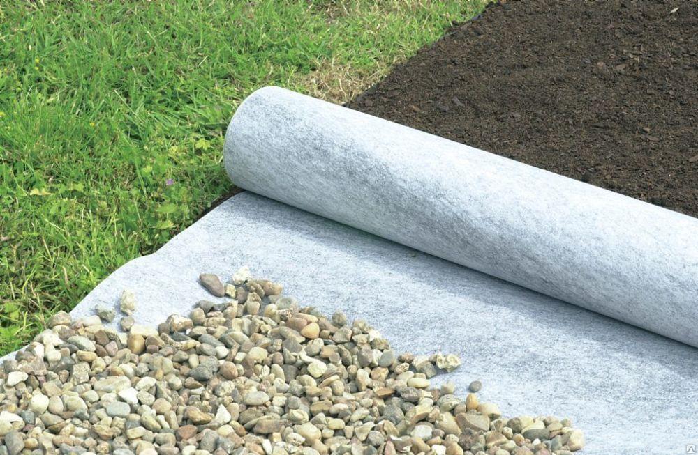 Укладка слоя поверх грунта