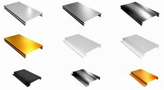 Алюминиевые отделочные рейки