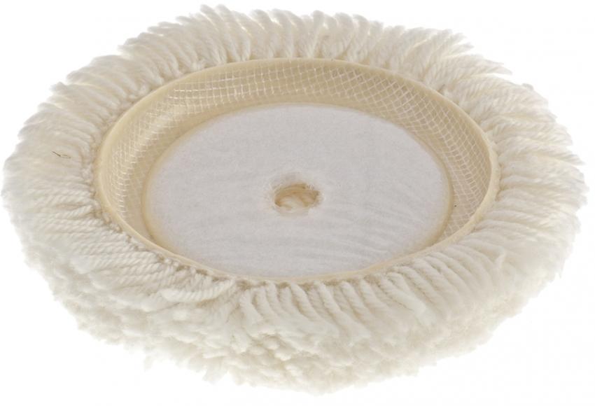 Встречаются варианты полировальных насадок для шуруповерта из войлока или шерсти