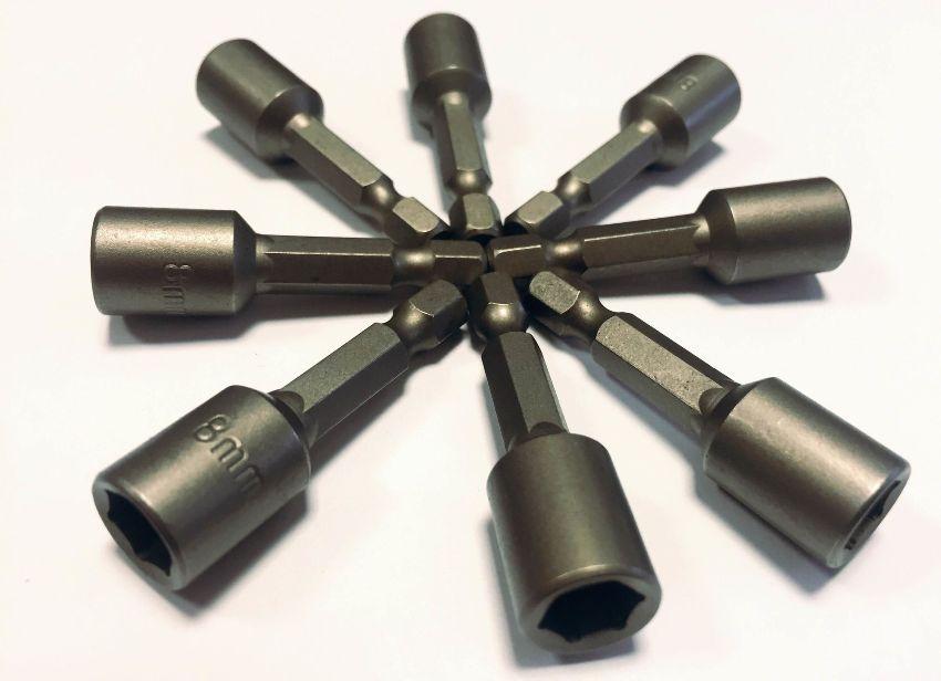 Существующие виды бит для шуруповерта различаются формой своей рабочей части