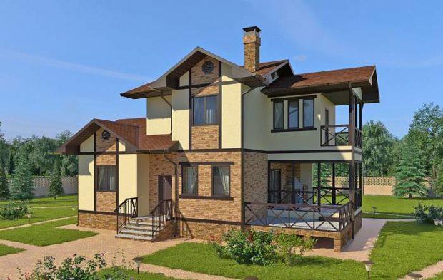 Проект дома Айова