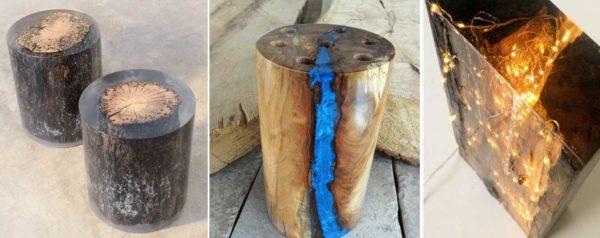 Можно и как стулья использовать, и как опору для столешницы