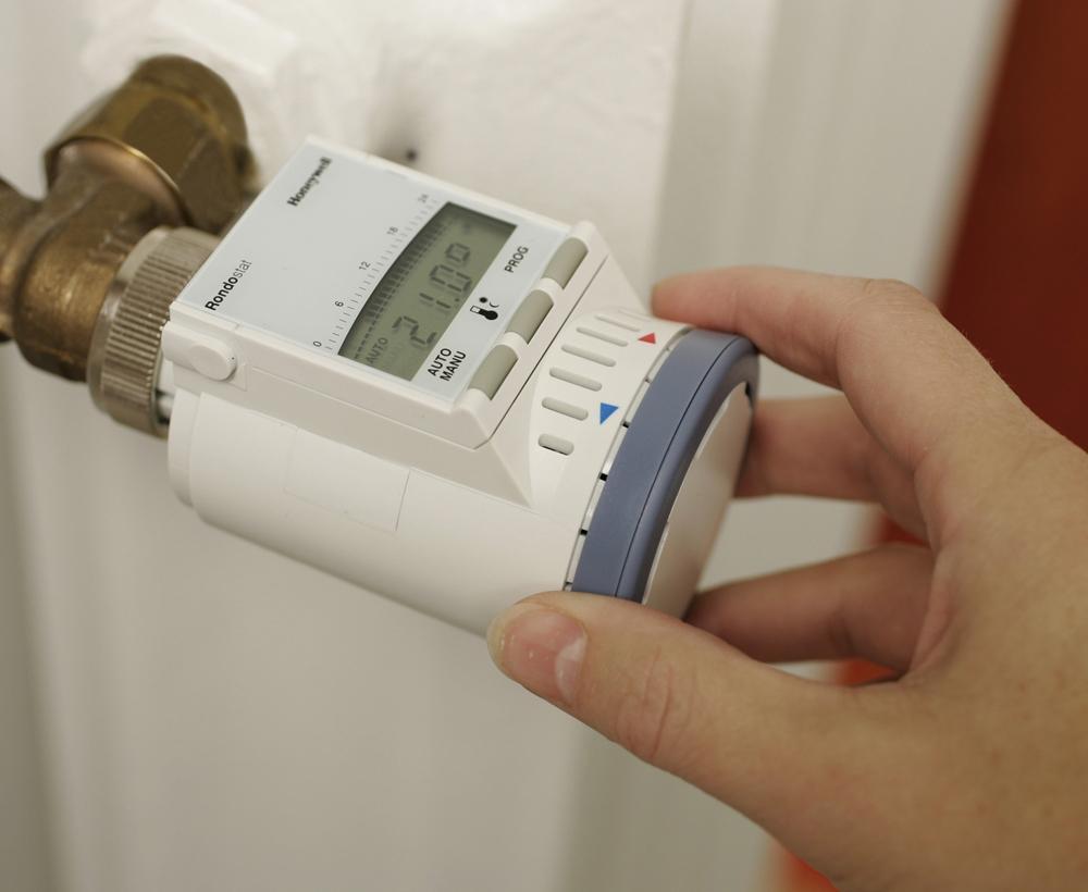 терморегулятор радиаторный электронный