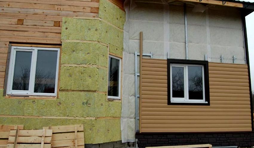 Предпочтения отдается утеплению стен снаружи, так как не отнимается полезная жилая площадь