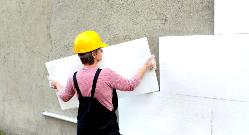 Утепление фасада дома снаружи: лучший способ наладить микроклимат внутри здания