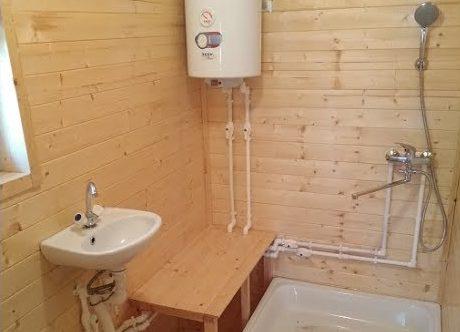 Устанавливаем водопровод в бане своими руками